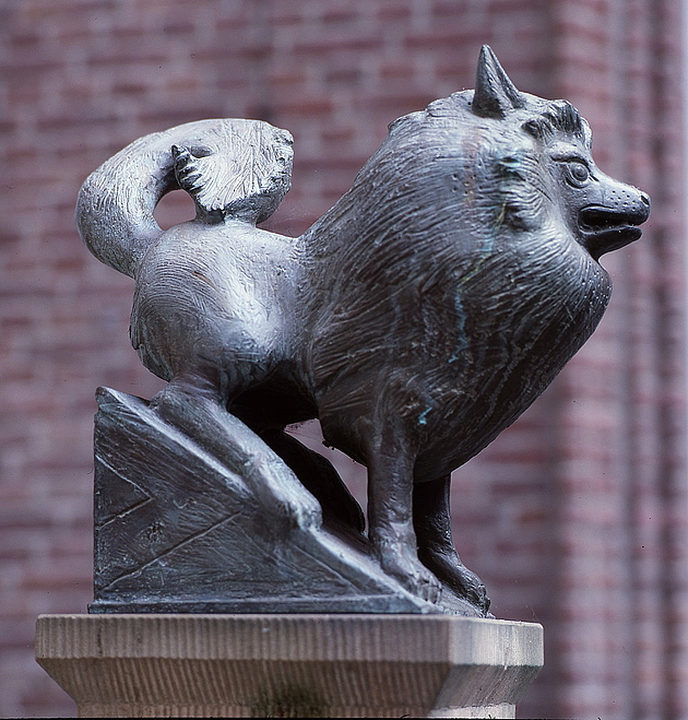 Hundeskulptur