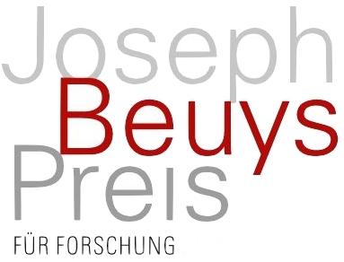 Schriftzug Joseph Beuys Preis für Forschung